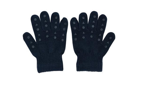 Gants en tricot - Petroleum Navy Blue
