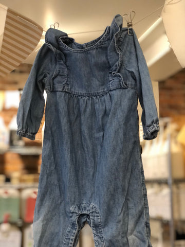 Combinaison en denim Gap Denim, 12-18 M