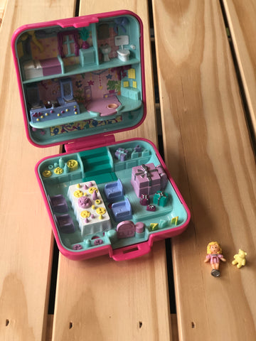 Coffret Polly Pocket Birthday Partytime Surprise, 1989