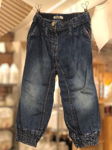 Pantalons bouffants en denim Mexx, 18-24 M
