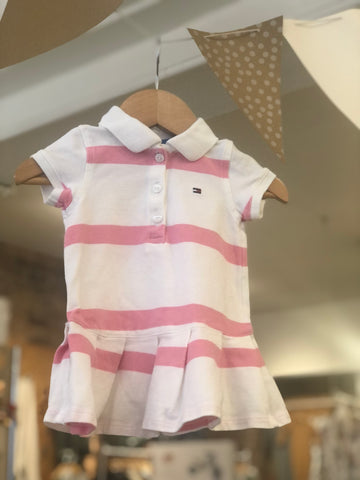 Robe polo et bloomer Tommy Hilfiger, 3-6M