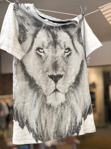 T-Shirt Lion H&M, gr. 4-6