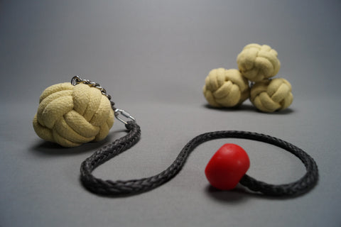 Fire Poi - Paracord Knot (Pair)