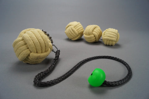 Fire Poi - Monkey fist (Pair)
