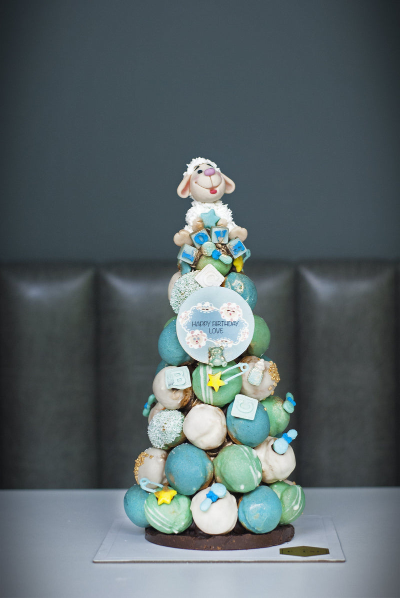 BABY DON'T HERD ME- BOY'S THEME (Sheep Croquembouche) Croquembouche Pulse Patisserie