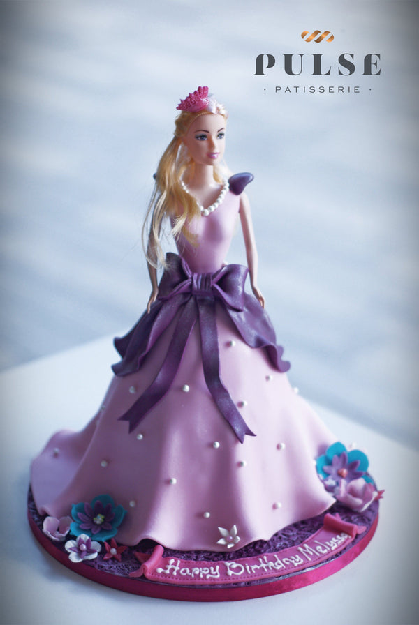 Barbie Doll Cake Customized 2 Weeks Pulse Patisserie