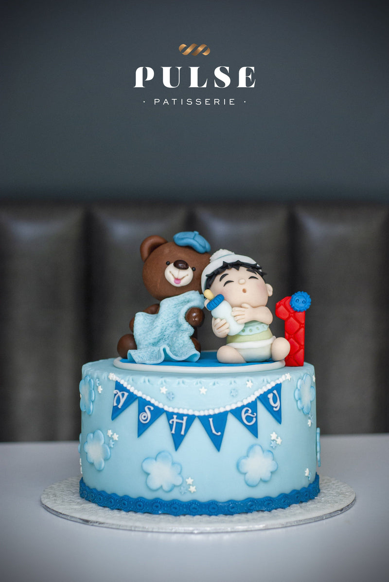 BEAR & BABY BOY Customized 2 Weeks Pulse Patisserie