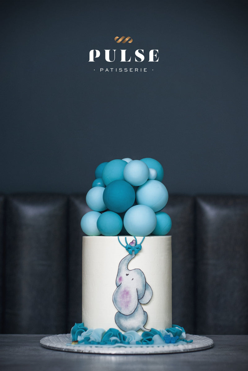 ELEPHANT BALLOONS Customized 2 Weeks Pulse Patisserie