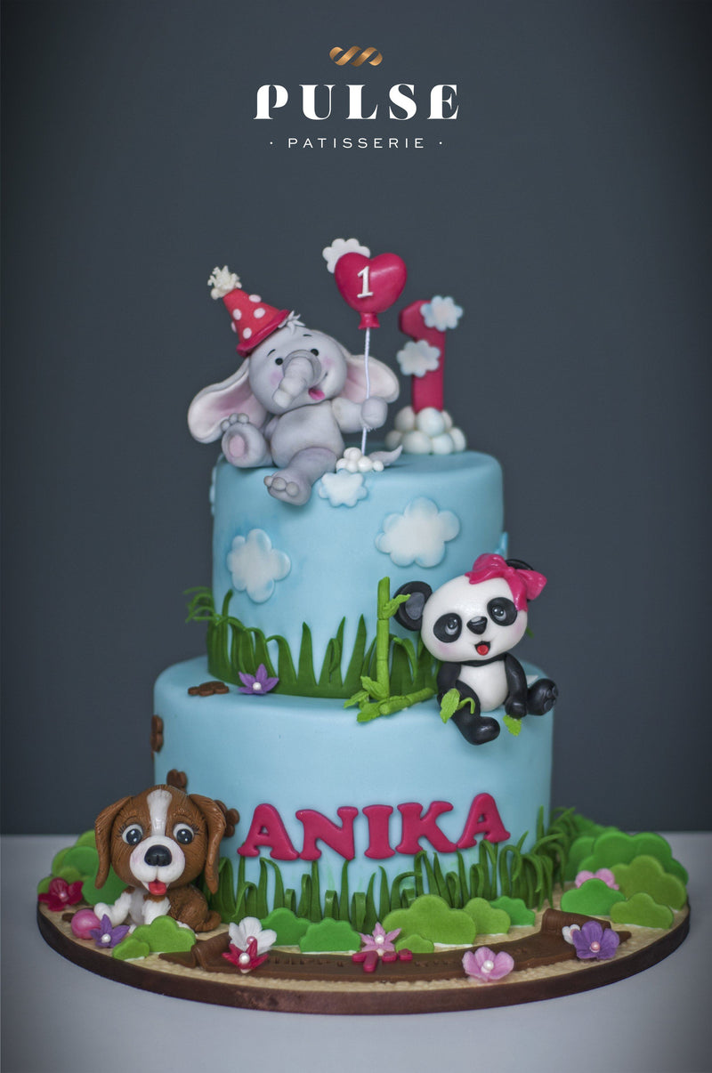 Jungle Theme Customized 3 Weeks Pulse Patisserie