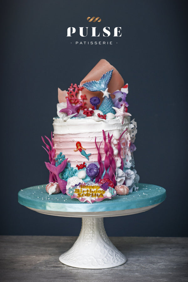 Mermaid Tail Customized 2 Weeks Pulse Patisserie