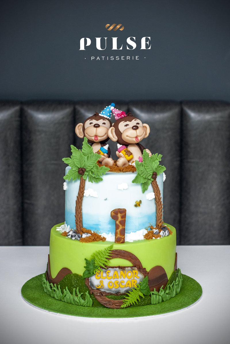 MONKEY TWINS Customized 2 Weeks Pulse Patisserie