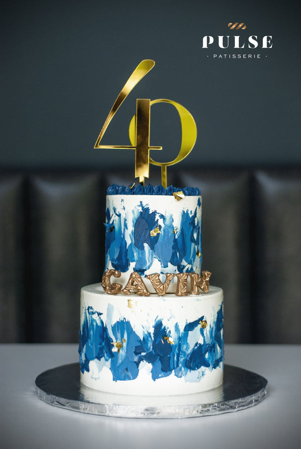 NUMERICAL CAKE Customized 2 Weeks Pulse Patisserie