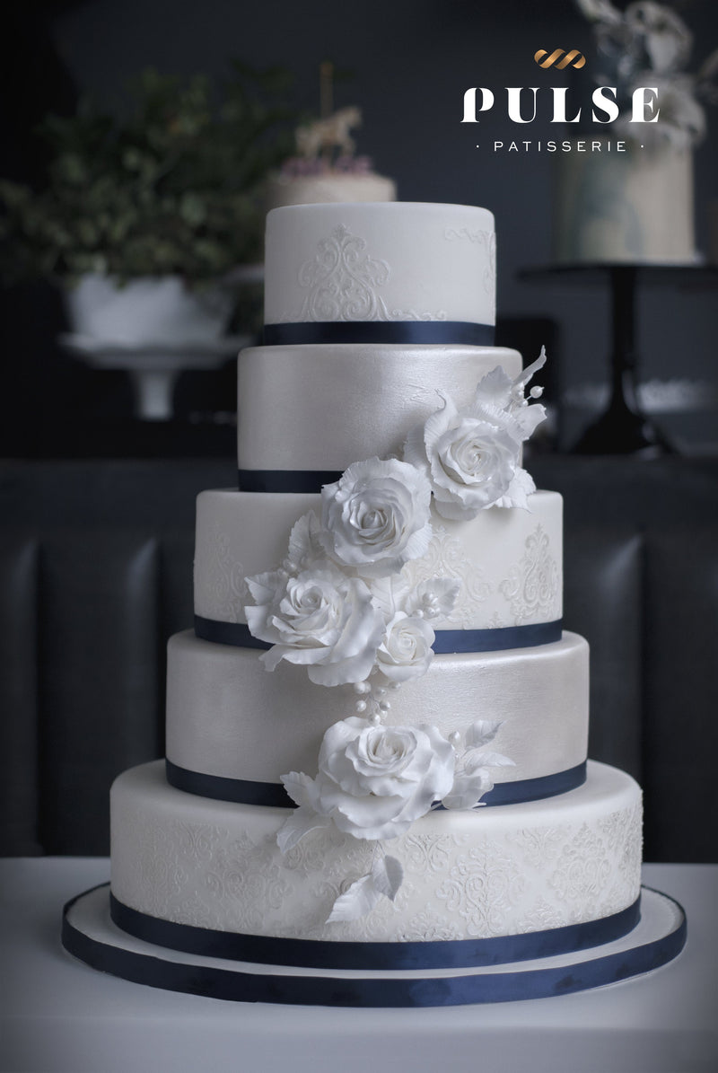 Royal Roses Wedding Pulse Patisserie