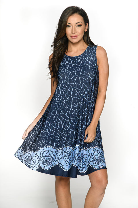 Beyond Comfortable Swing Dress