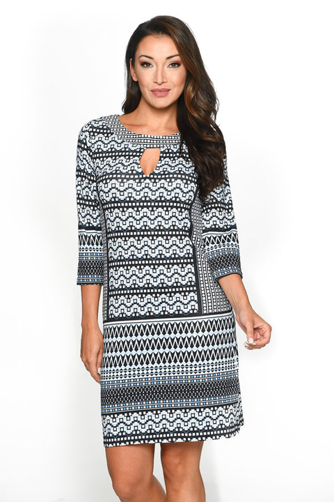 Acapulco Front Key Hole Dress