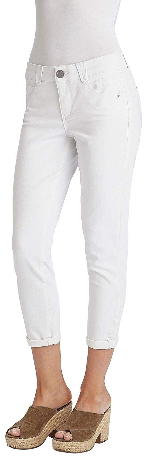 Optic White Ankle Pants