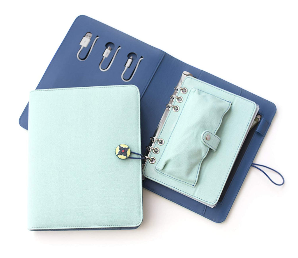 Power Planner ~ Light Mint/Teal