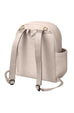 Ace Backpack ~ Ivory Matte Leatherette