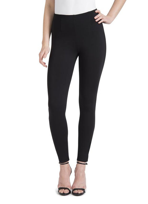 Ponte Fabric Skinny w/Slit ~ Black