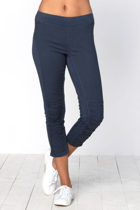 Jetter Crop Legging ~ Pres. Blue