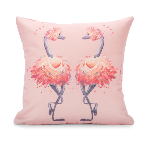 """Glad To Be Me"", Pink Pillow"