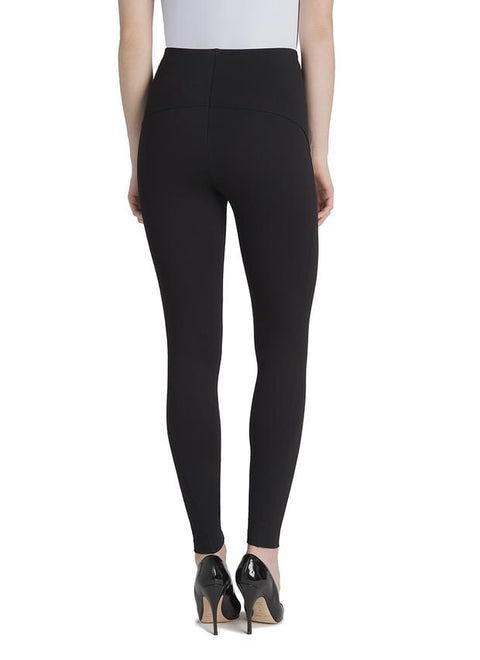 Nina Inset Legging ~ Black