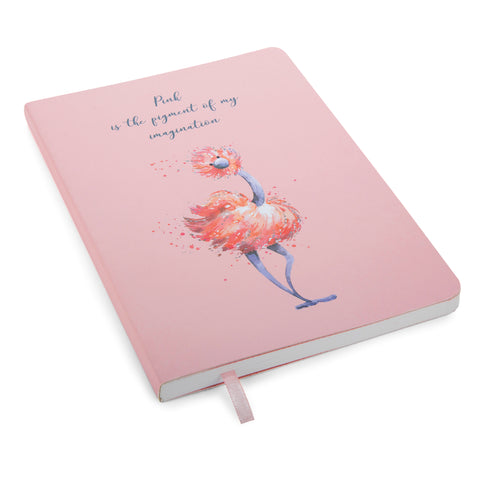 """Glad To Be Me"" Pink  or Blue Note Book"