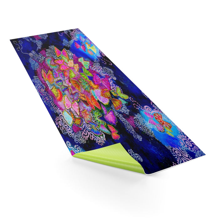 Butterfly Bloom Yoga Mat