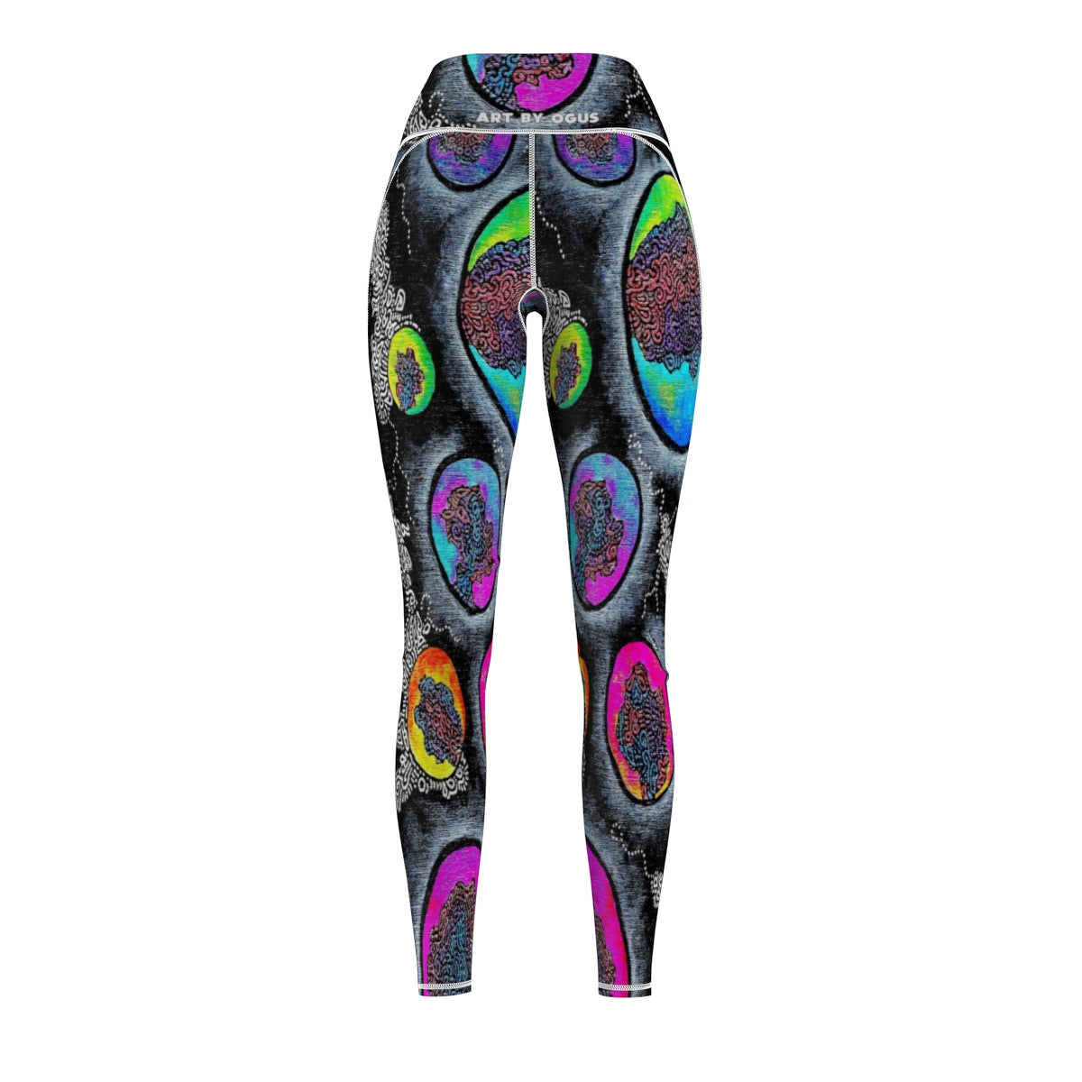 Marble Sky Cut & Sew Sport Leggings