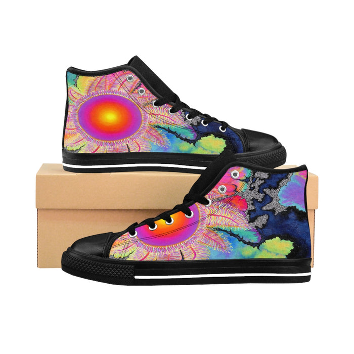 Kaleidoscope Sun High-top Sneakers