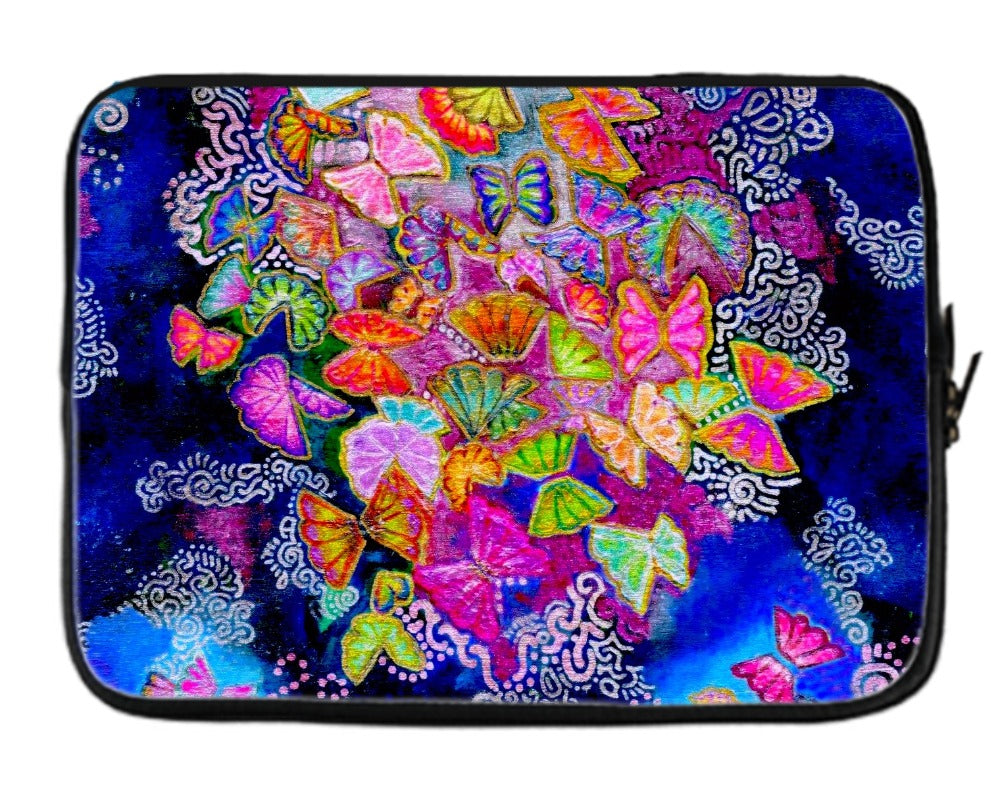Butterfly Bloom Laptop Sleeve