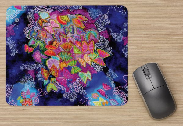 Butterfly Bloom Mousepad