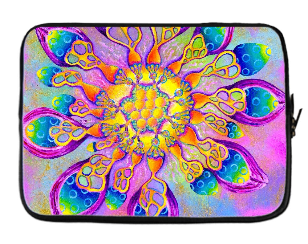 Flowerlicious Laptop Sleeve