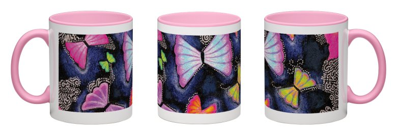 Imaginarium Accent Mug - Pink Interior