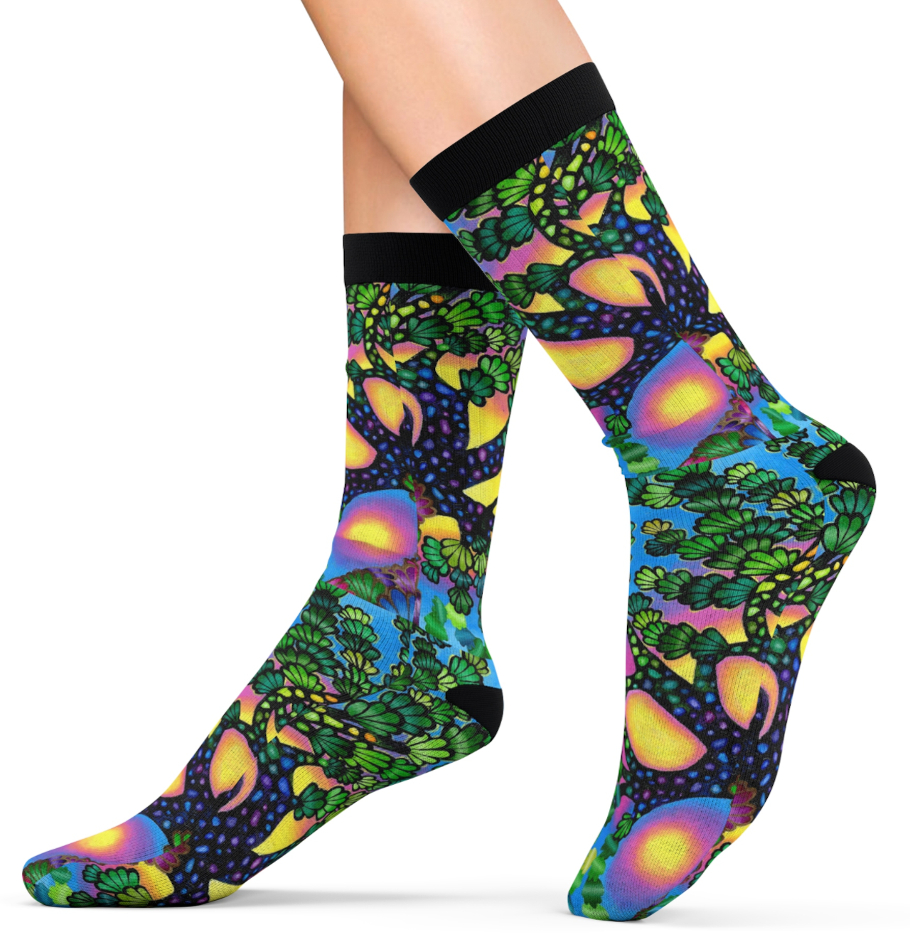 Treasure Tree Socks