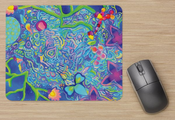 Sea Foam Mousepad