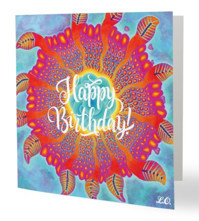 Undula Happy Birthday Card