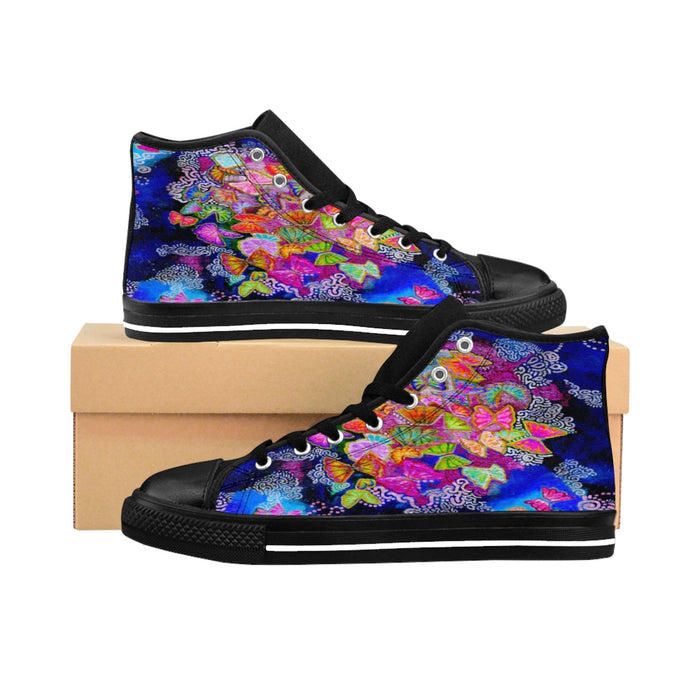 Butterfly Bloom High-top Sneakers