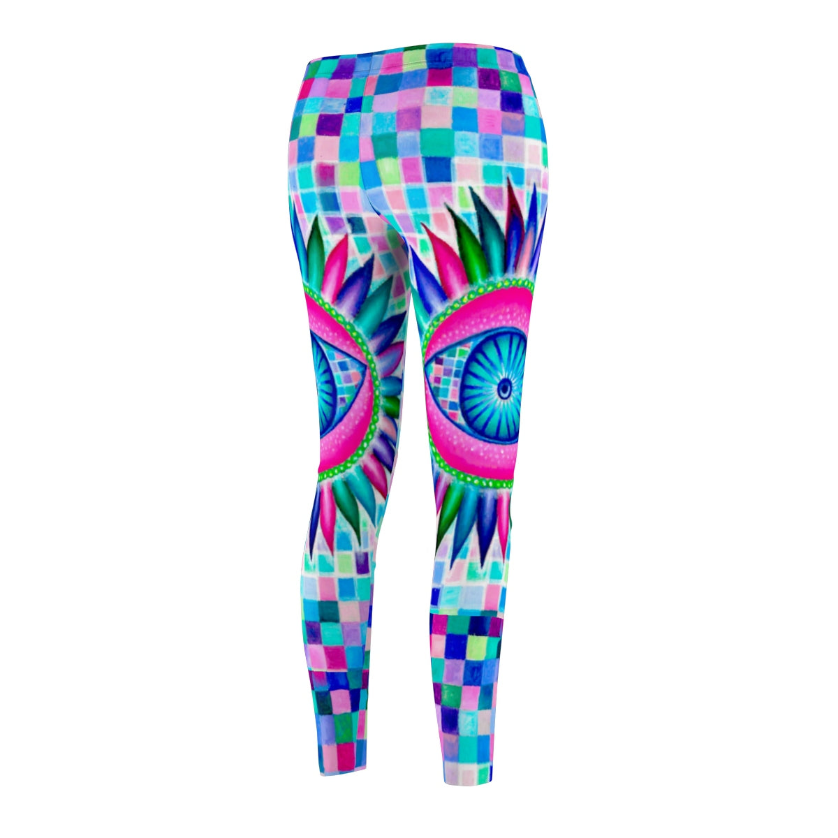 Fractal Eyes Leggings