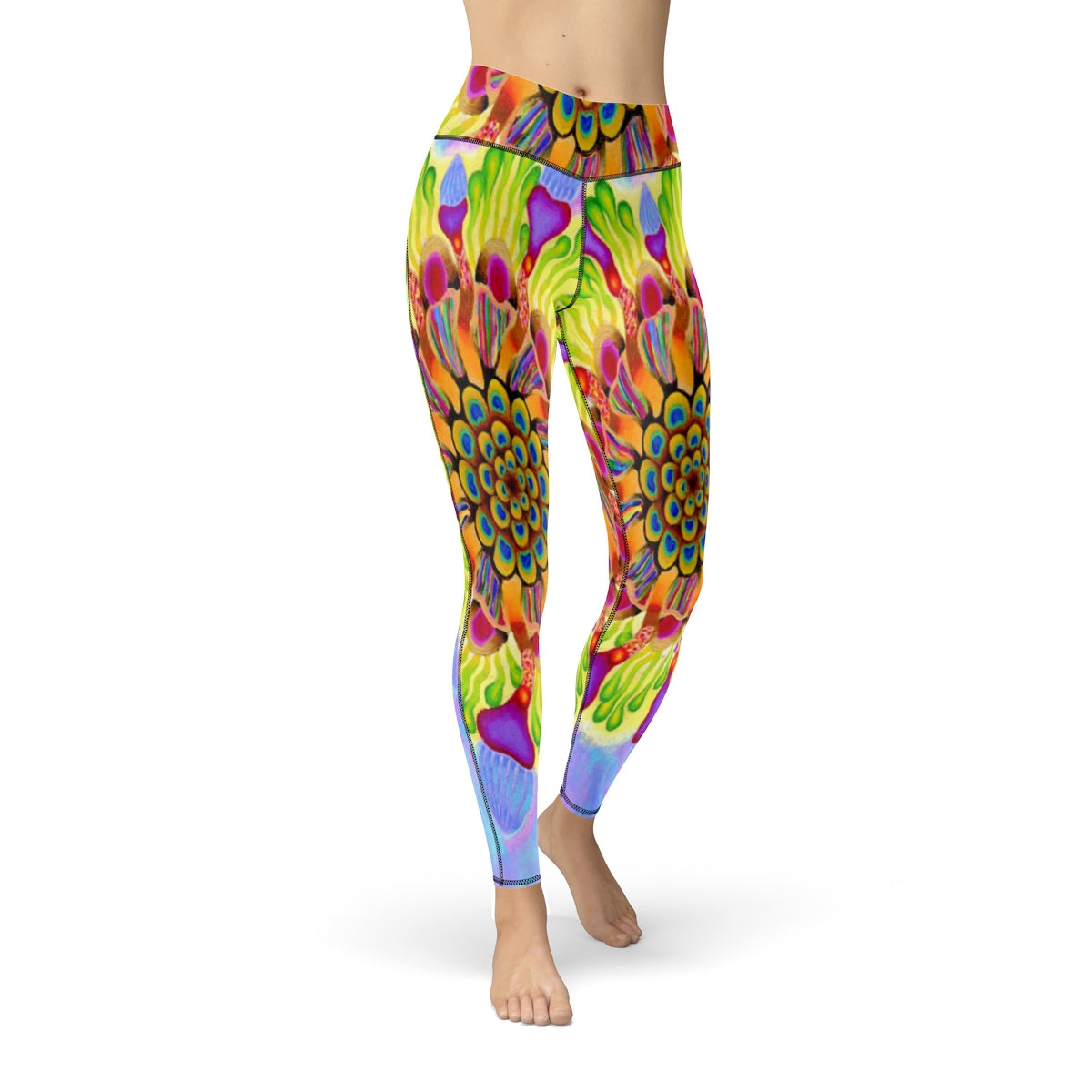 Popping Boba Cut & Sew Sport Leggings