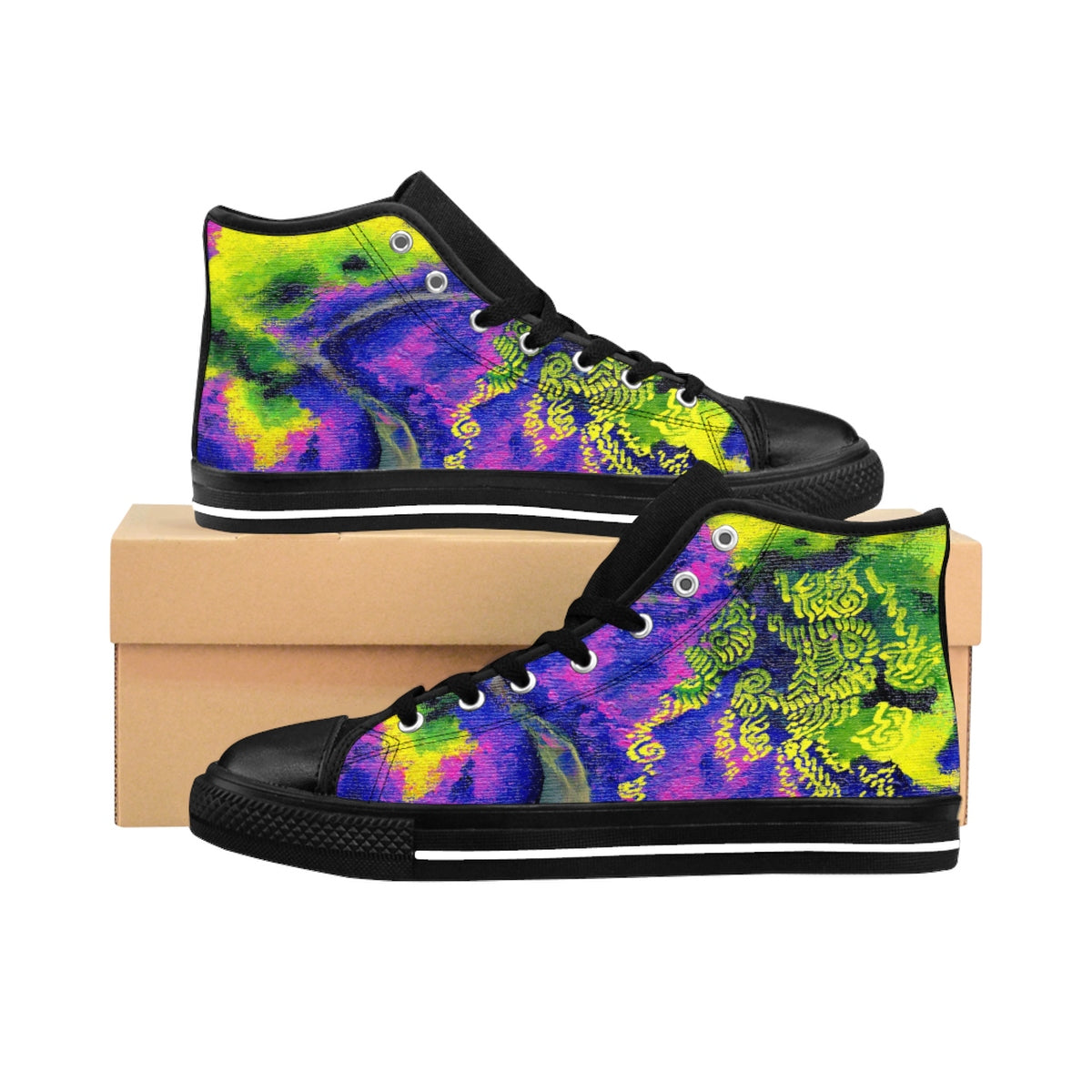Wacky Willow High-top Sneakers