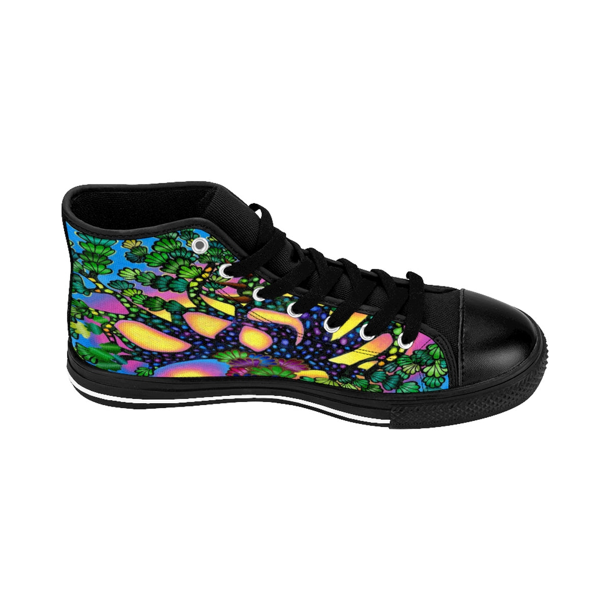 Treasure Tree High-top Sneakers