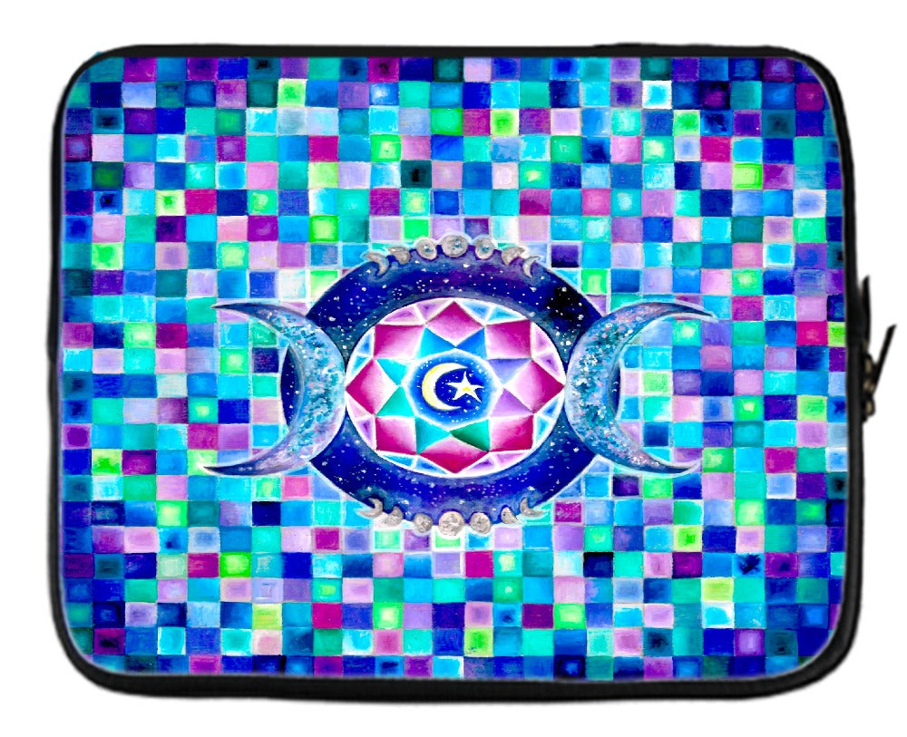 Crystal Moon Laptop Sleeve
