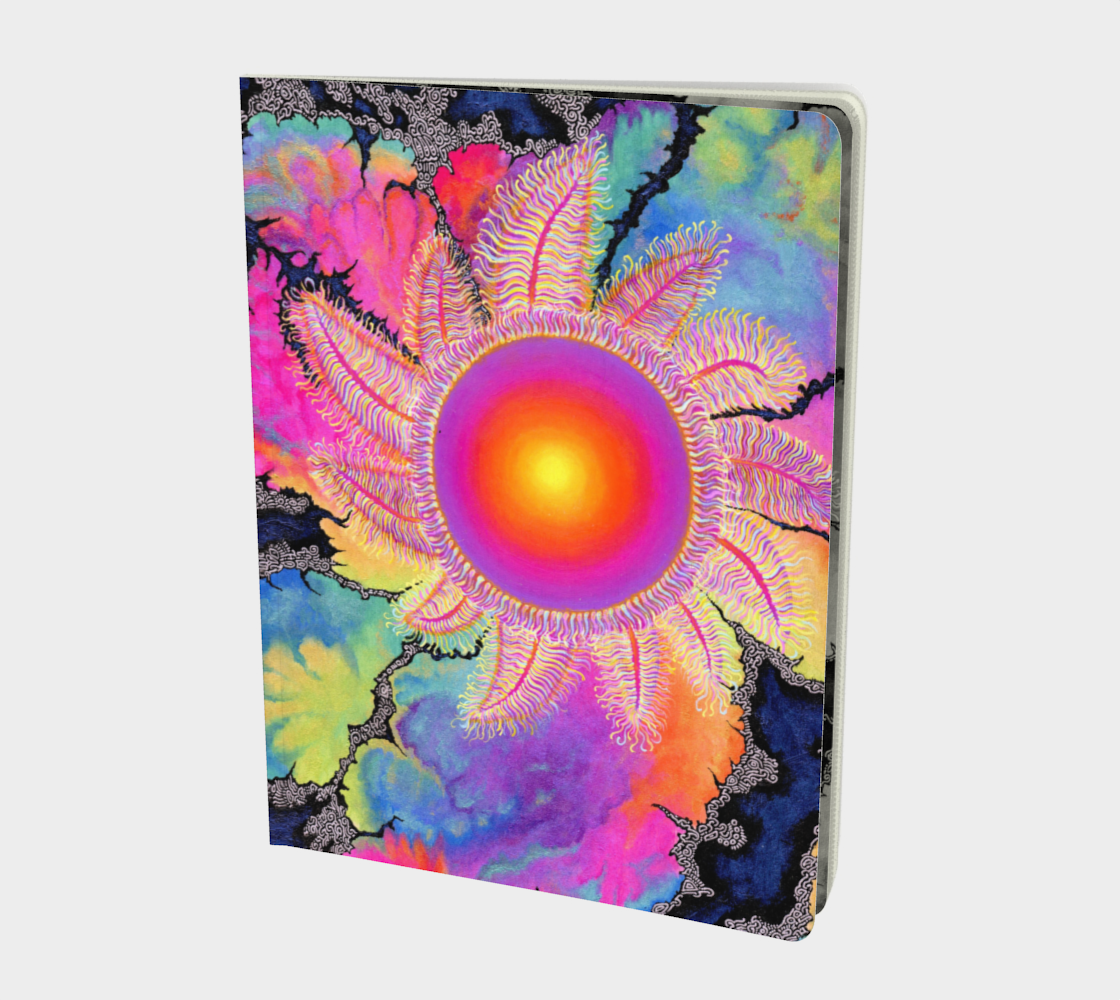 Kaleidoscope Sun Notebook