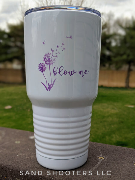 Blow Me stainless steel insulated tumbler