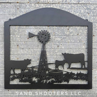 Sandhills Ranch property sign