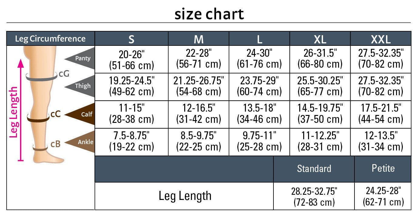 This model has a girth of each thigh 66 centimeters