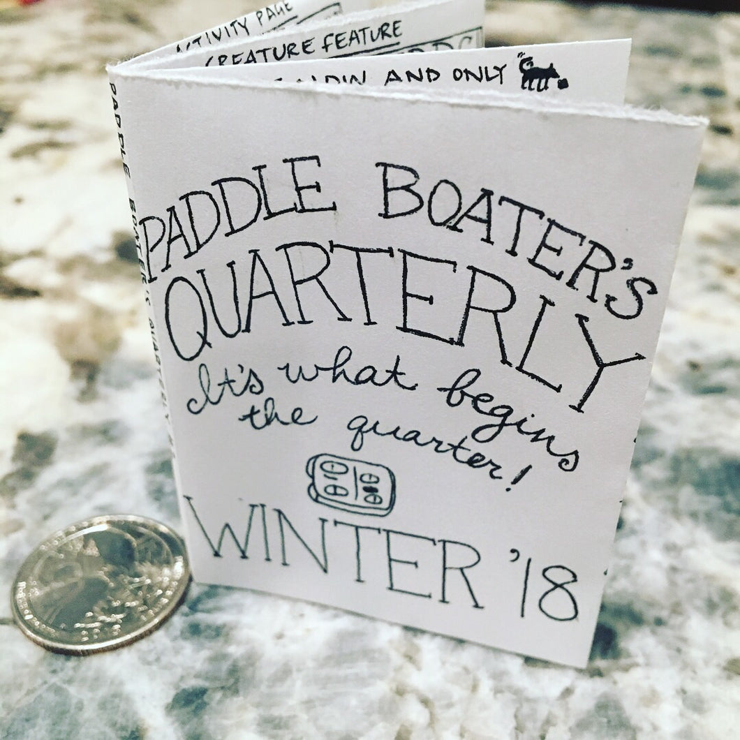Paddle Boater's Quarterly, Issue #2