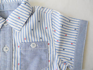 Anchor Button Down