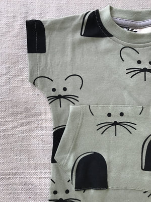 Mouse House Romper